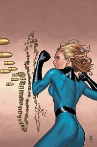 Invisible Woman by Marvel Comics artist Steve McNiven